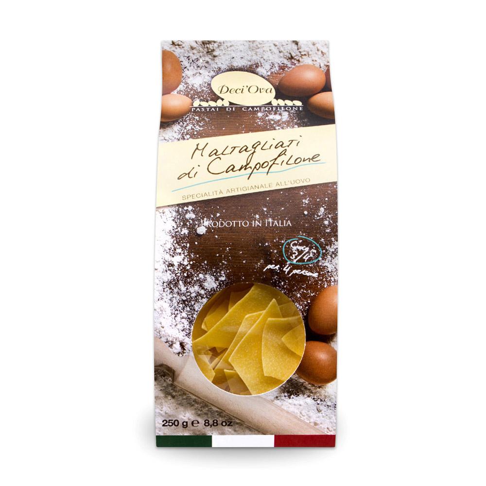 Maltagliati di Campofilone zucca e tartufo