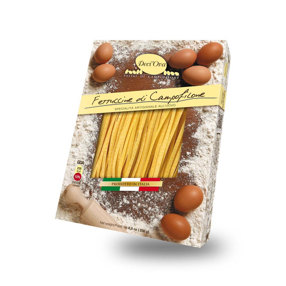 Fettuccine di Campofilone con baccalà alla marchigiana