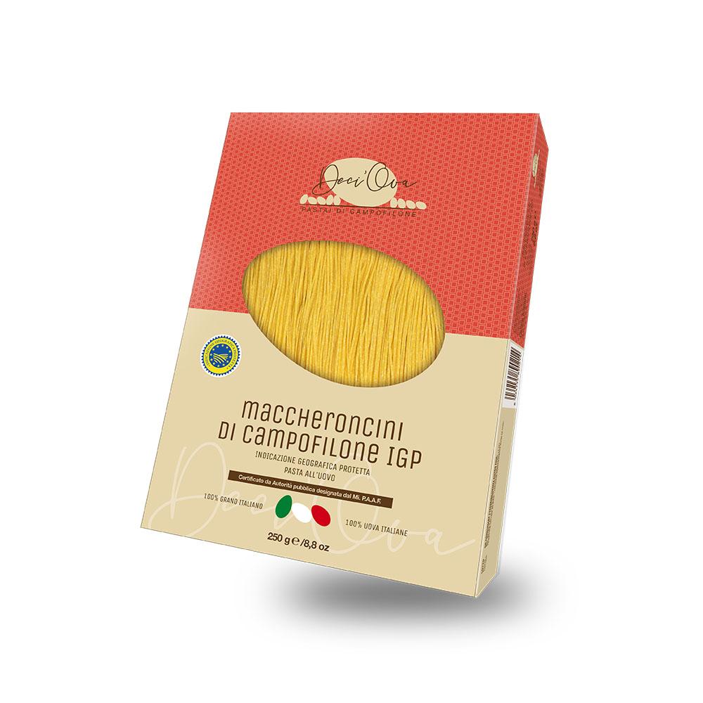 Maccheroncini IGP aglio, olio, peperoncino e colatura di alici