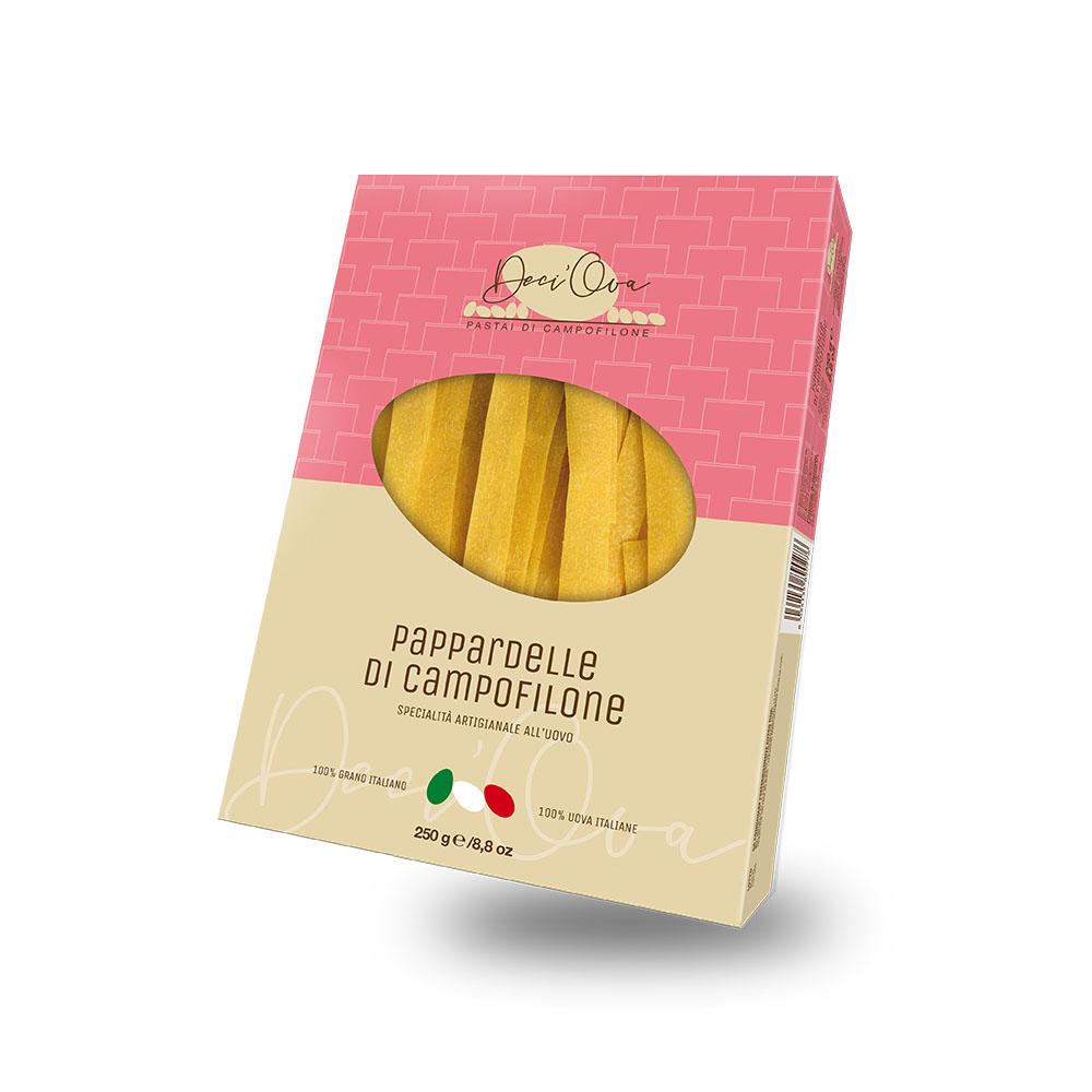 Pappardelle di Campofilone all'amarena