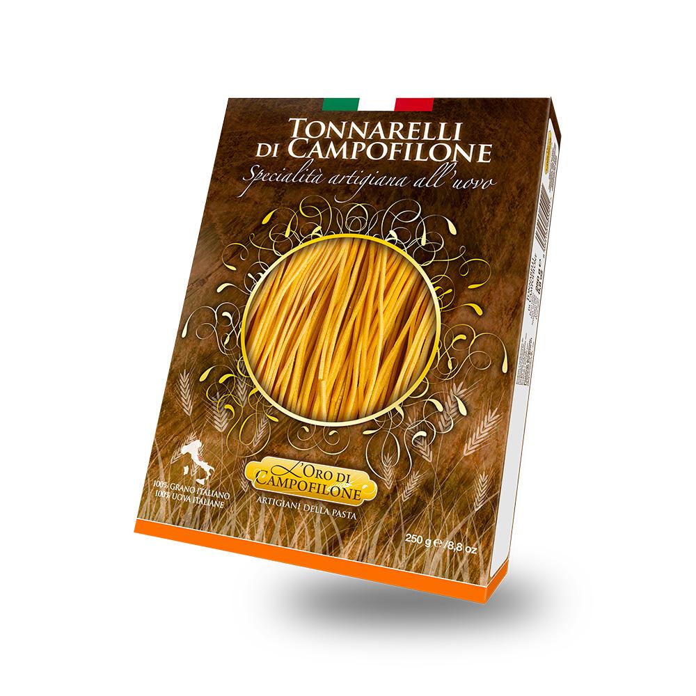 Tonnarelli di Campofilone alla zucca e i suoi semi